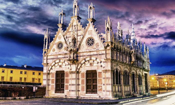 Церковь Санта-Мария делла Спина в Пизе