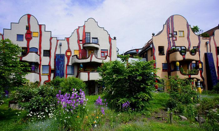 Дома Хундертвассера (Плохинген)