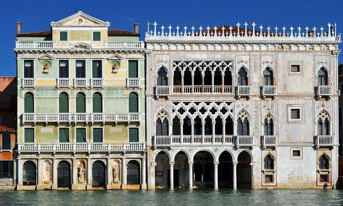 Дворцы Джусти и Ка-д'Оро в Венеции