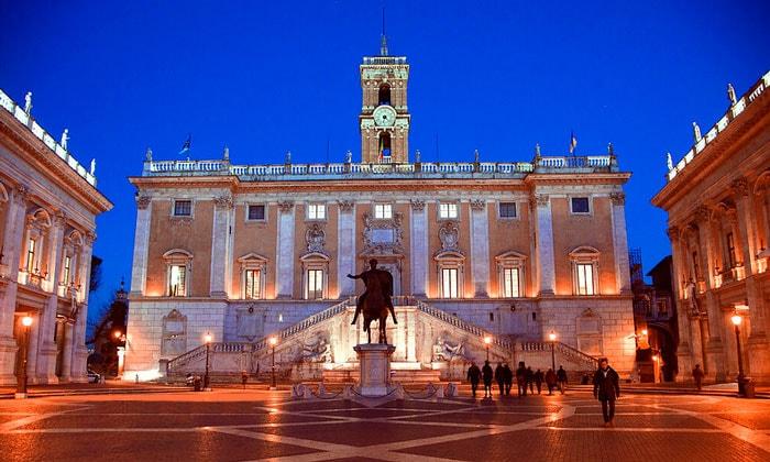Дворец (палаццо) Сенаторов в Риме