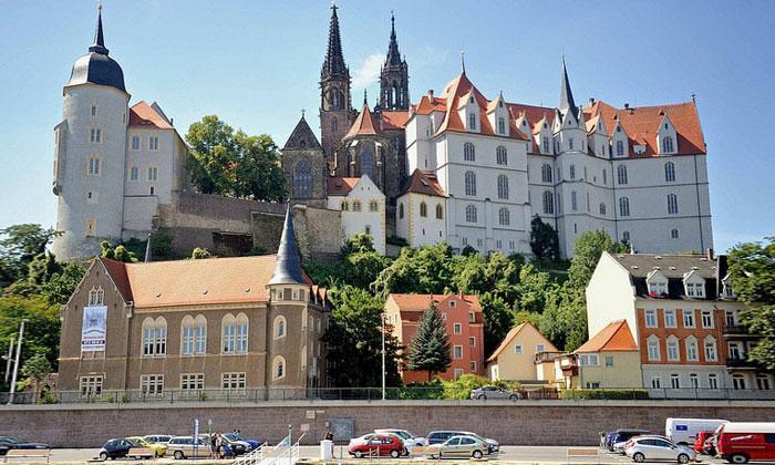 Город Мейсен в Германии