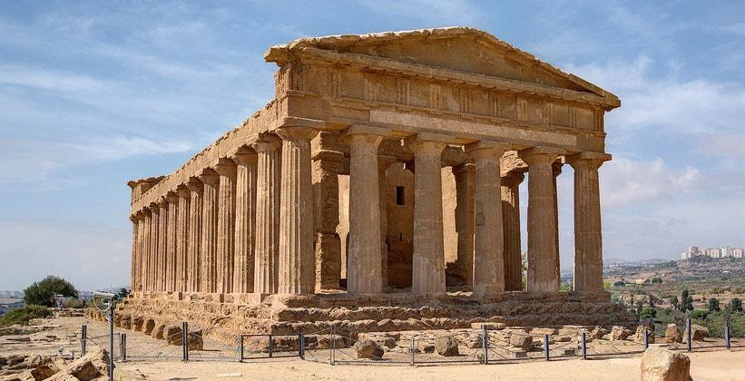Храм Согласия в Агридженто (Италия)