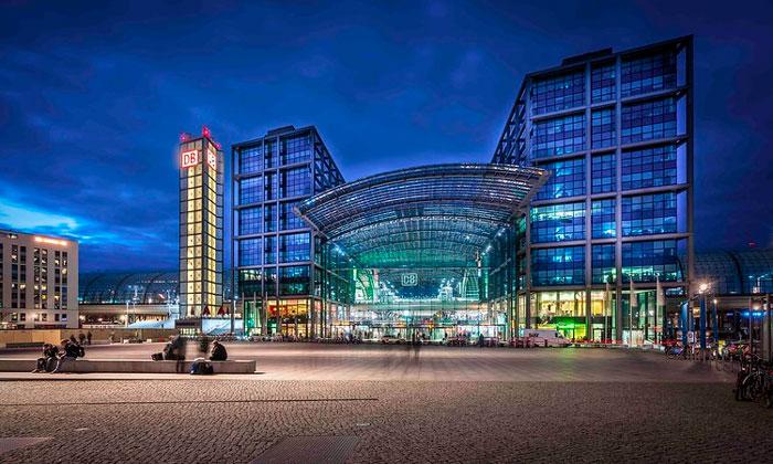 Железнодорожный вокзал Берлина