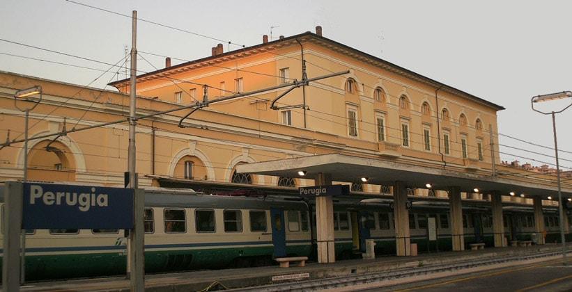 Железнодорожный вокзал Перуджи