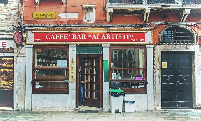 Кафе-бар Ai Artisti в Венеции