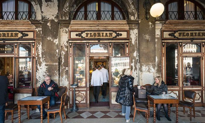 Кафе Florian в Венеции