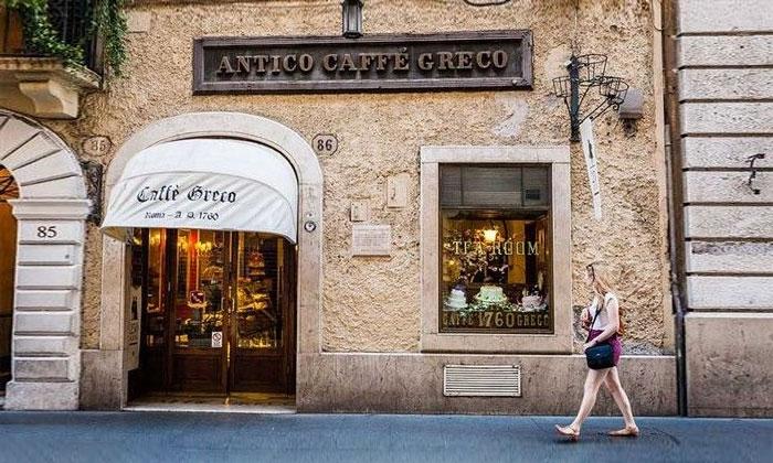 Кафе Greco в Риме