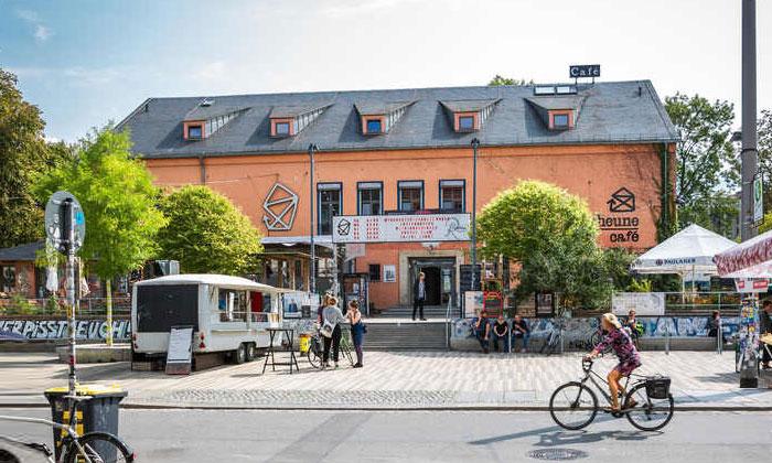 Кафе «Scheune» в Дрездене