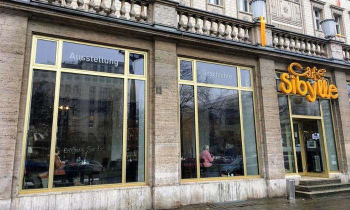 Кафе Sibylle в Берлине