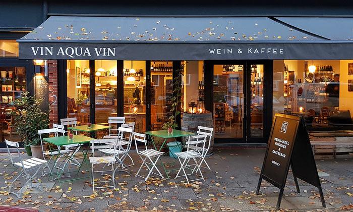 Кафе Vin Aqua Vin в Гамбурге