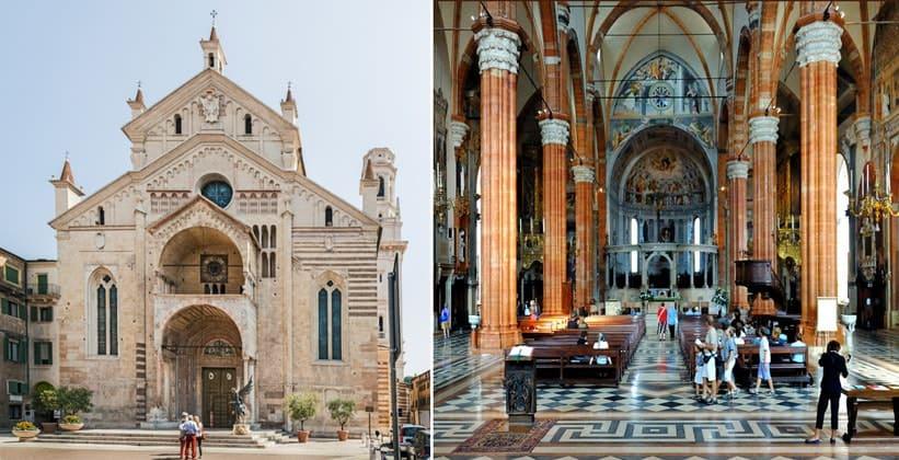 Кафедральный собор Вероны (Италия)
