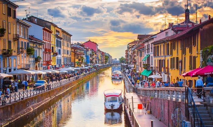 Канал Навильо Гранд в Милане