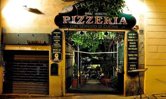 Классическая миланская пиццерия