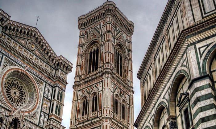 Колокольня (башня) Джотто во Флоренции