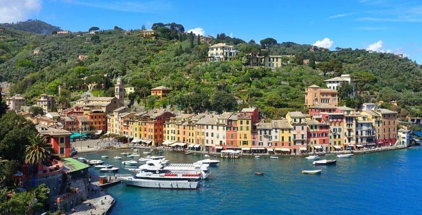 Курорт Портофино в Италии