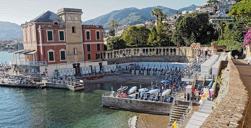 Курорт Рапалло в Италии