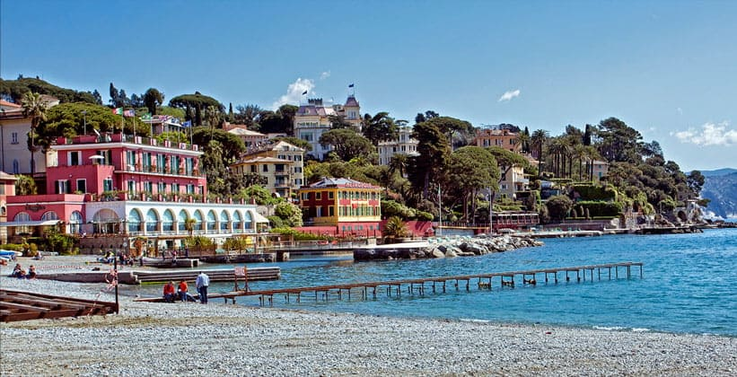 Курорт Санта-Маргерита-Лигуре в Италии