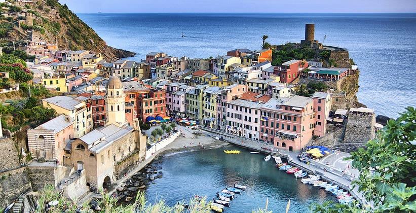 Курорт Вернацца в Италии