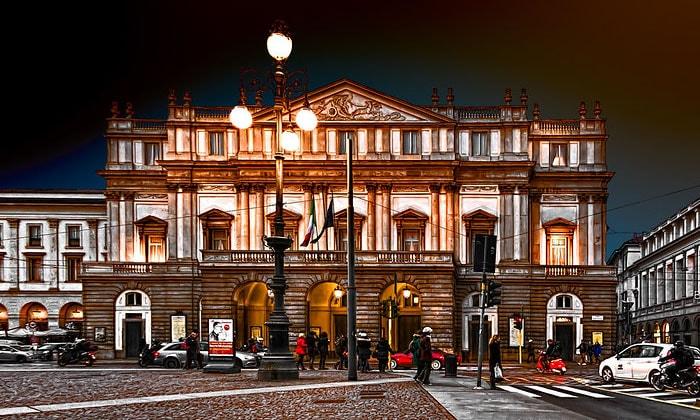 Оперный театр Ла Скала в Милане