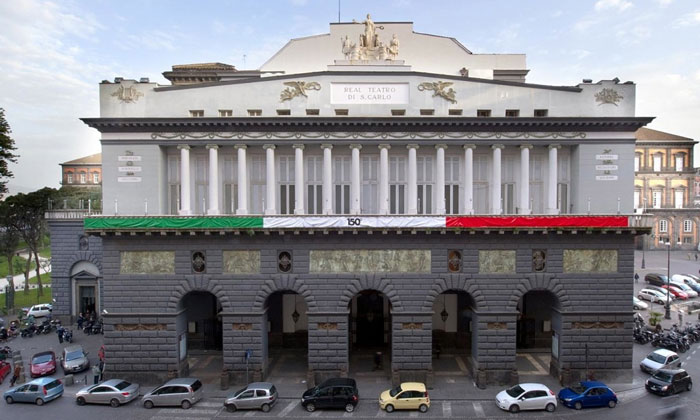 Оперный театр Сан-Карло в Неаполе