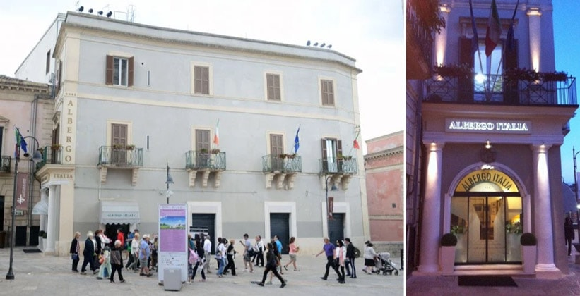 Отель Albergo Italia в городе Матера