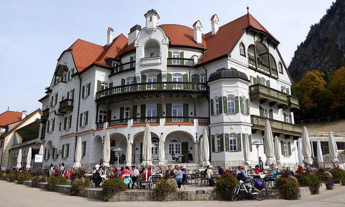 Отель Alpenrose в городе Альтершрофен