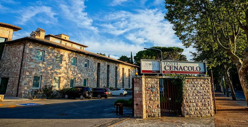 Отель Cenacolo в Ассизи (Италия)