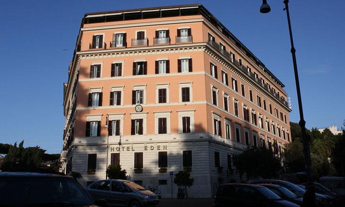 Отель Eden в Риме