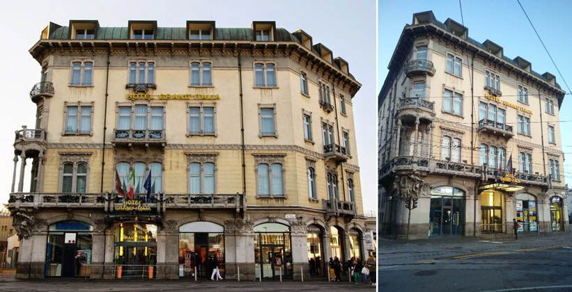 Отель Grand Italia в Падуе