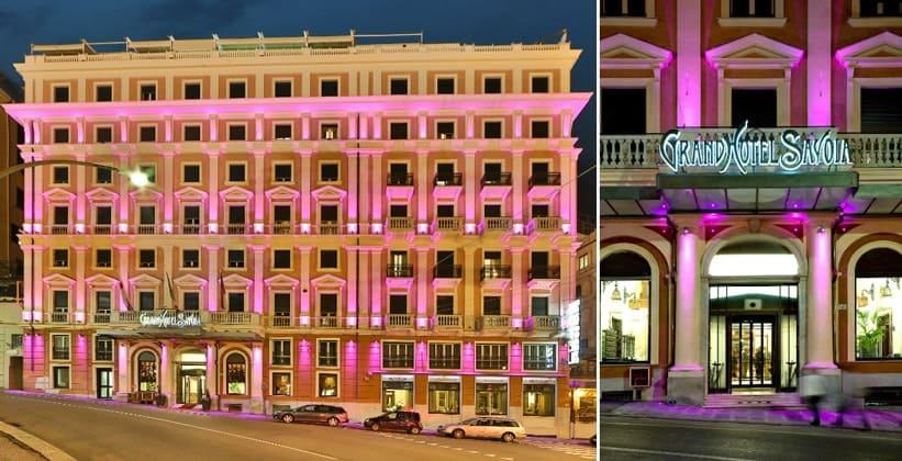 Отель Grand Savoia в Генуе