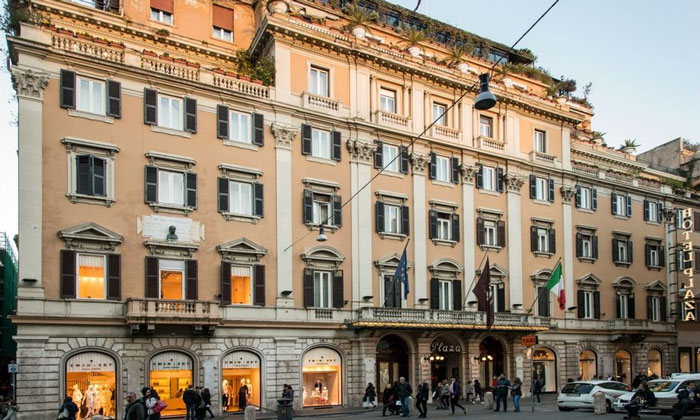 Отель Grand Plaza в Риме