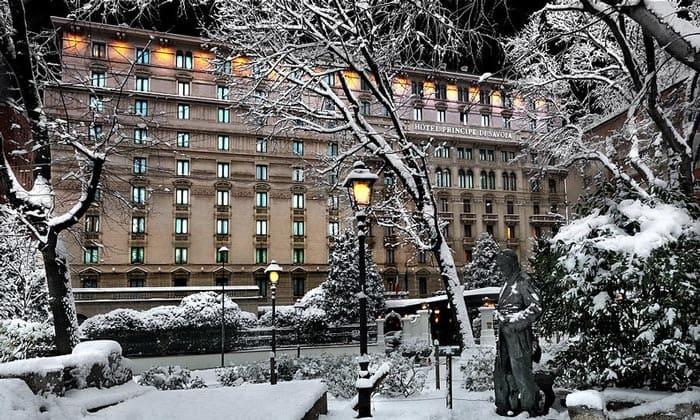Отель Principe di Savoia в Милане