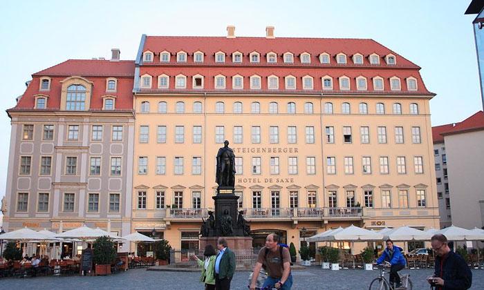 Отель «Steigenberger» в Дрездене
