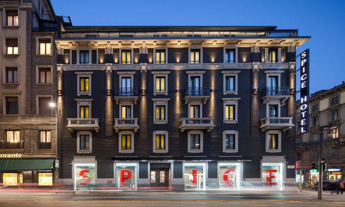 Отель Spice в Милане