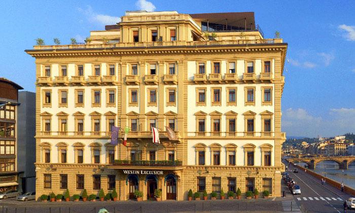 Отель Westin Excelsior во Флоренции