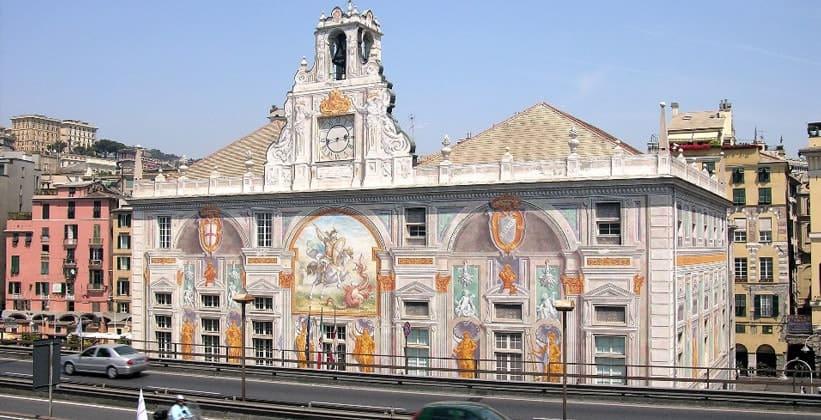 Палаццо Сан-Джорджо в Генуе