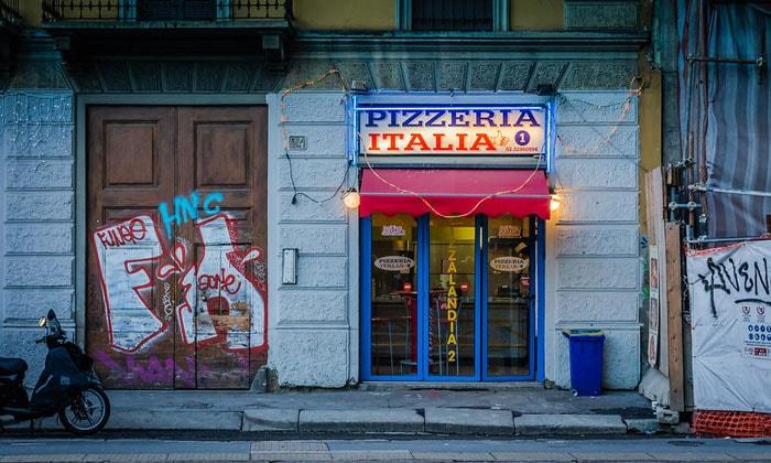 Пиццерия Italia в Милане