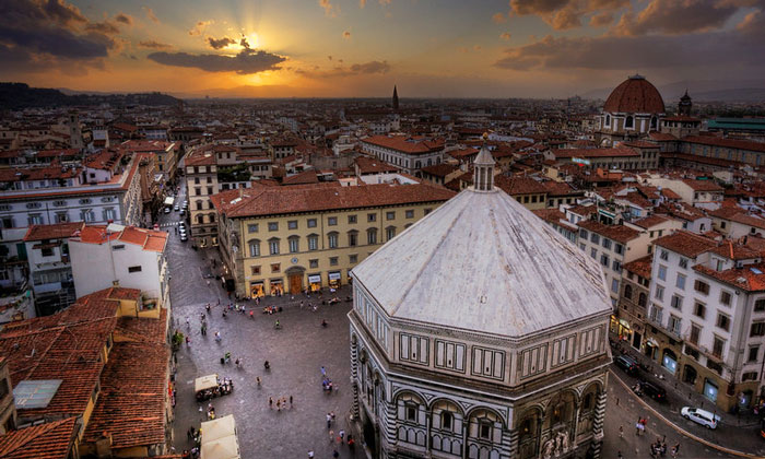 Соборная площадь Флоренции