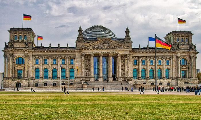 Рейхстаг в Берлине в Берлине