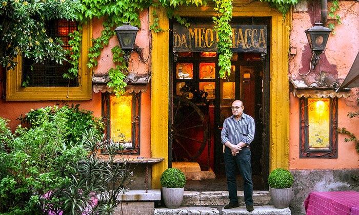 Ресторан Meo Patacca в Риме