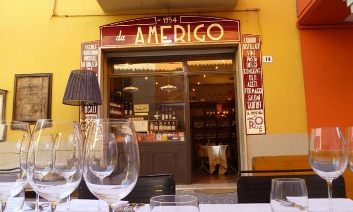 Ресторан Amerigo в Болонье
