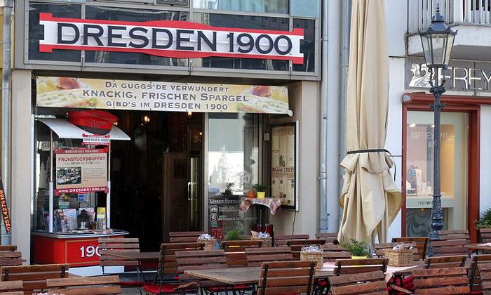 Ресторан «Dresden 1900» в Дрездене