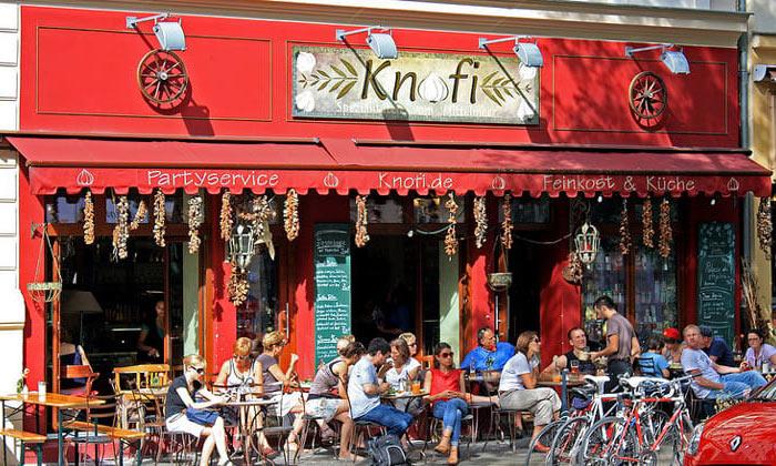 Ресторан Knofi в Берлине