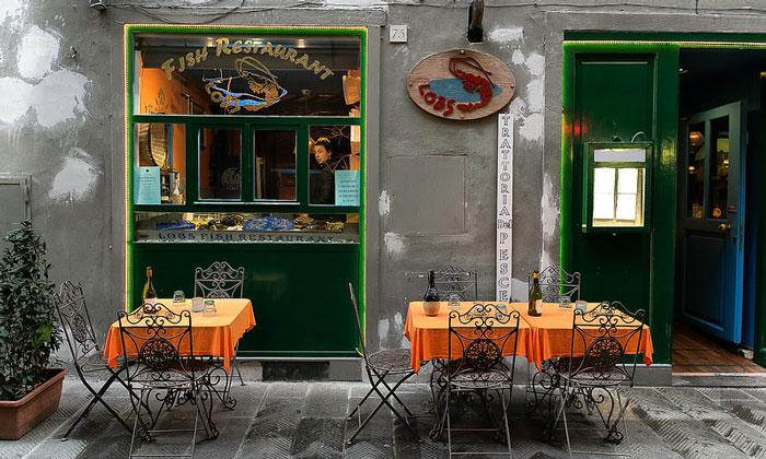 Ресторан Lobs-Fish во Флоренции