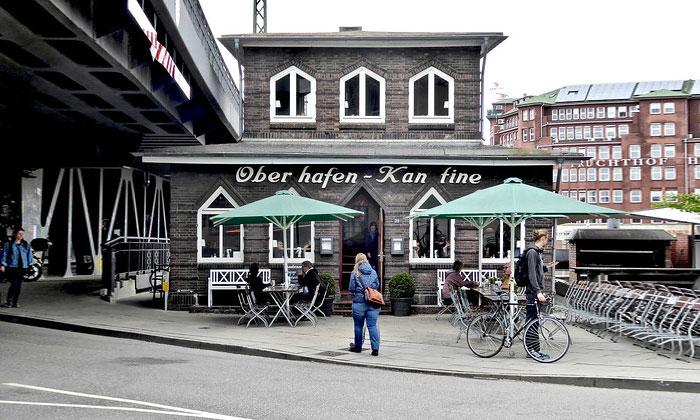 Ресторан Oberhafen-Kantine в Гамбурге