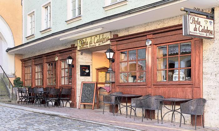 Ресторан «Perla di Calabria» (Вассербург)