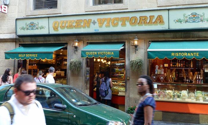 Ресторан Queen Victoria во Флоренции