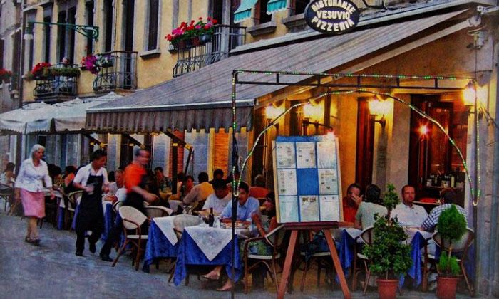 Ресторан-пиццерия Vesuvio в Венеции
