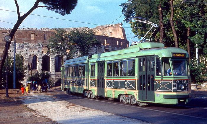 Римский трамвай