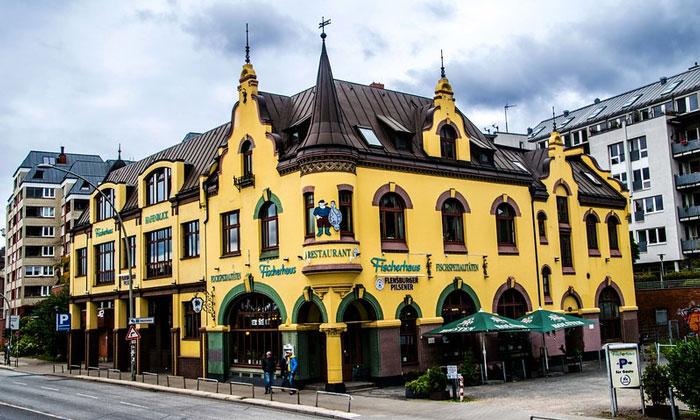 Ресторан «Fischerhaus» в Гамбурге